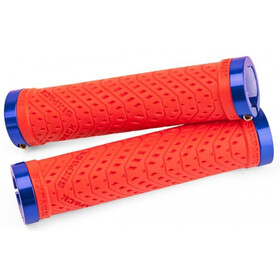 Sixpack K-Trix Lock-On Grips red/blue